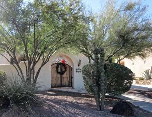 christmas wreath in arizona