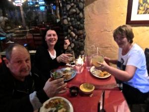 dinner at de la cruz