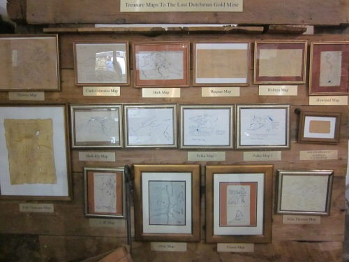 maps leading to lost dutchman's mine superstition mountain museum