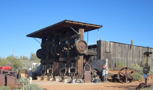 ore crusher superstition mountain museum