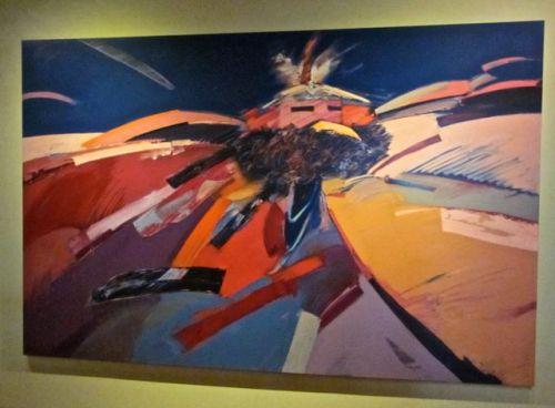 Red- Tailed Hawk Katsina by Dan Namingha