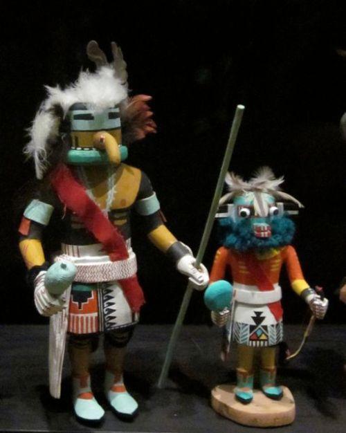 hopi kachinas at the heard museum