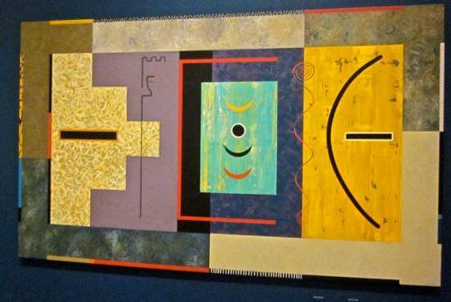 Kachina Symbolism #4 by Dan Namingha