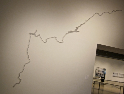 Pin River by Maya Lin