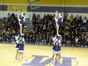 mesa jackrabbit cheerleaders