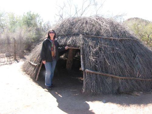 akimel oodham house pima indian house