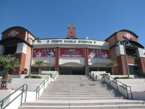angels of annaheim stadium in phoenix