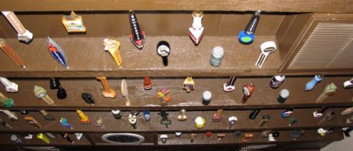 beer tap handle collection