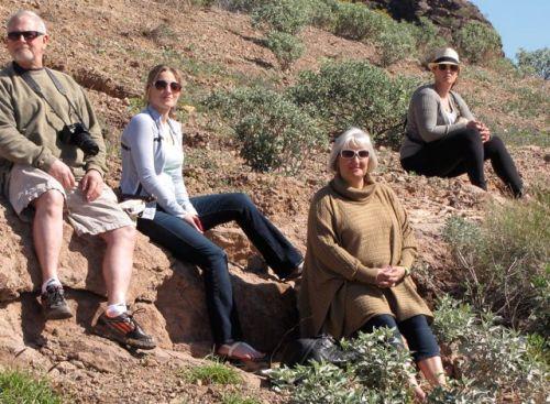 desert family photo