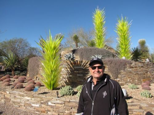 Desert Towers by Chihuly