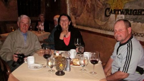 dinner at cartwright's cave creek arizona