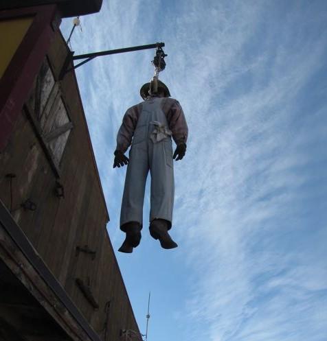 hanged man tortilla flats
