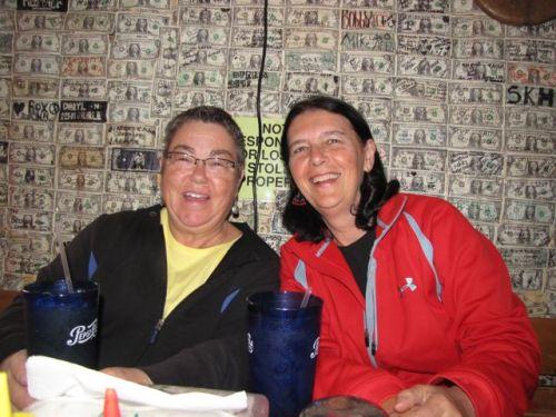 dollar bills superstition saloon tortilla flats