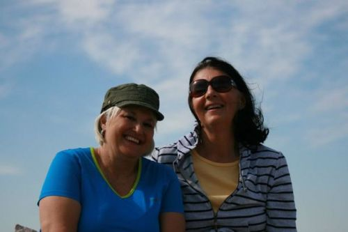 Linda and me on a hike in Arizona last year