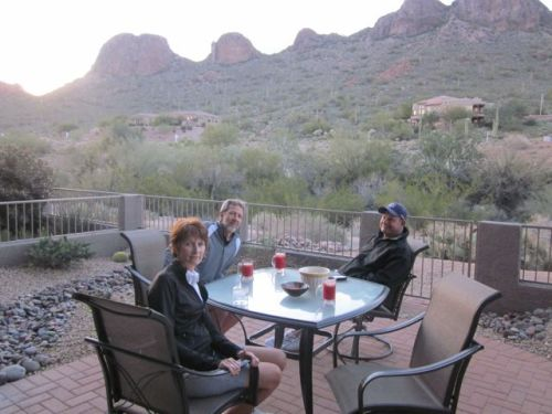 on the patio gold canyon
