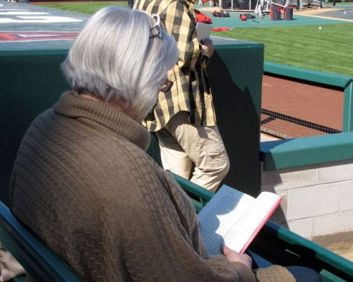 reading david bergen's age of hope at the ball game