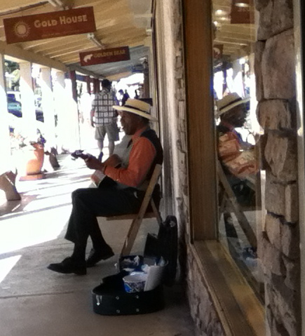 musician in old scottsdale