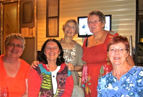 In Arizona with my Steinbach friends, Margaret, Marlene, Helen and Barb