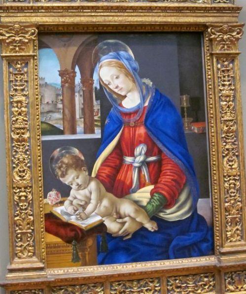 Madonna and Child by Filippino Lippi 1483