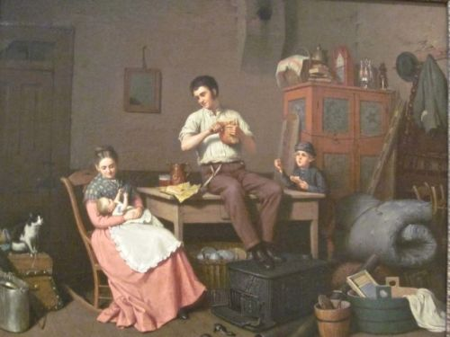 Just Moved by Henry Mosler 1870