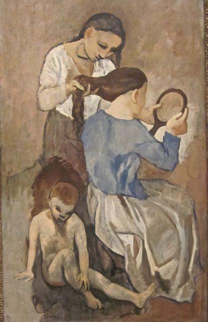 La Coiffure by Picasso 1916