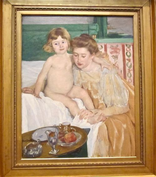 Mother and Child by Mary Cassatt 1899