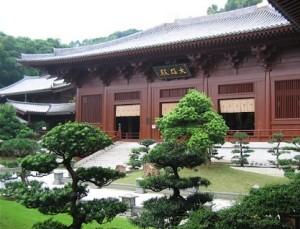 chi lin nunnery main building