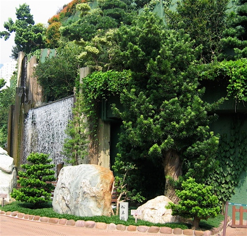 waterfall chi lin nunnery