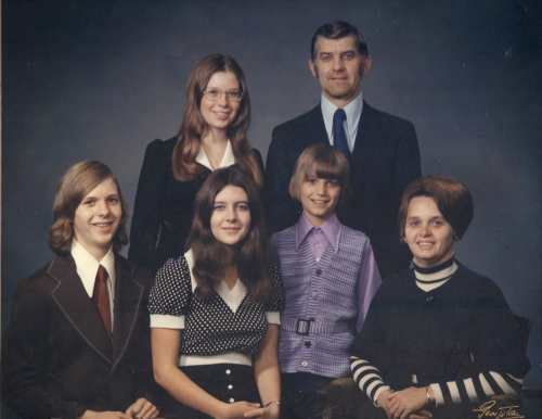 Dorothy with her family- around 1970