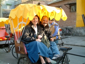 rickshaw in beijing huotong
