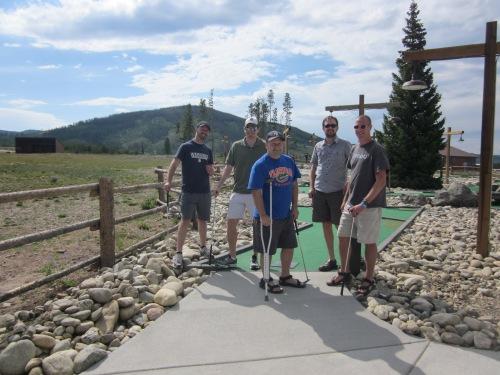 mini golf at snow mountain ranch