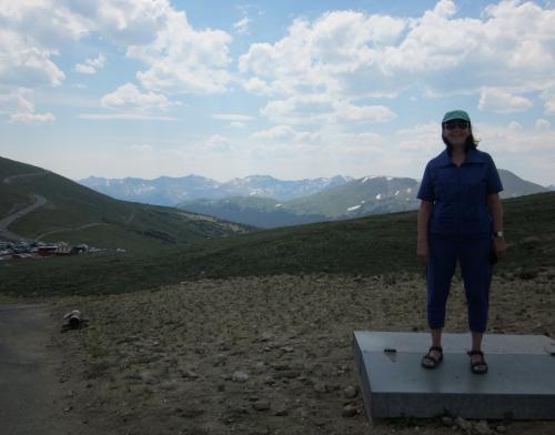 me at alpine visitor centre colorado