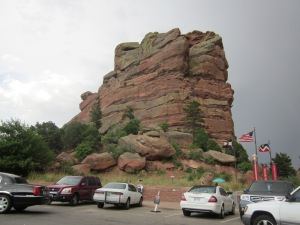 entry to red rocks amphitheatre