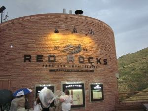 red rocks amphitheatre denver