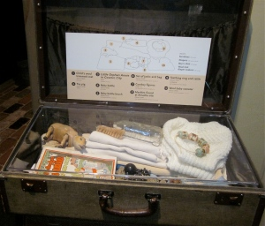 suitcase taken to Amache by Japanese americans during world war ii