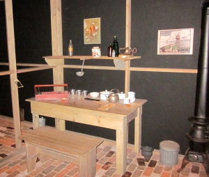furniture made from scrap lumber at japanese detainee camp in colorado