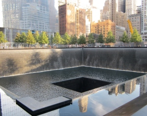 reflecting pool 9/11 memorial