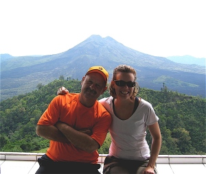 dave and kathy mount batur