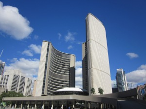City Hall Toronto Nathan Phillips Square