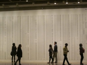wall of school children's names ai weiwei sichuan earthquake