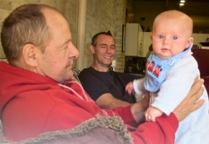 dave with danny and son
