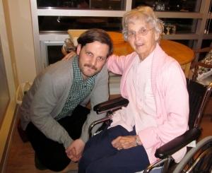 bucky and grandma