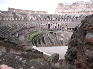 interior colosseum
