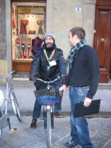 bike guide in florence