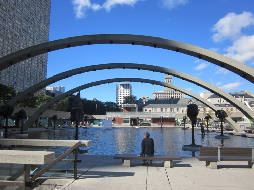 freedom arches nathan phillips square