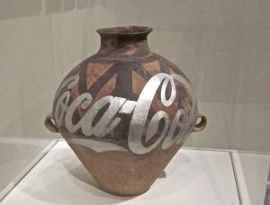ai wei wei han pot with coke logo