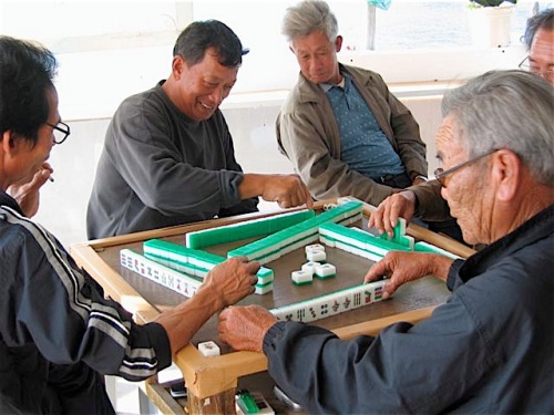 mahjong game high island