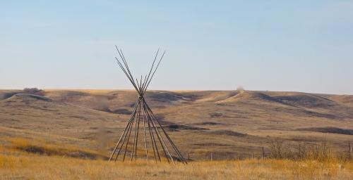 Prairie in Herschel Saskatchewan November 2013