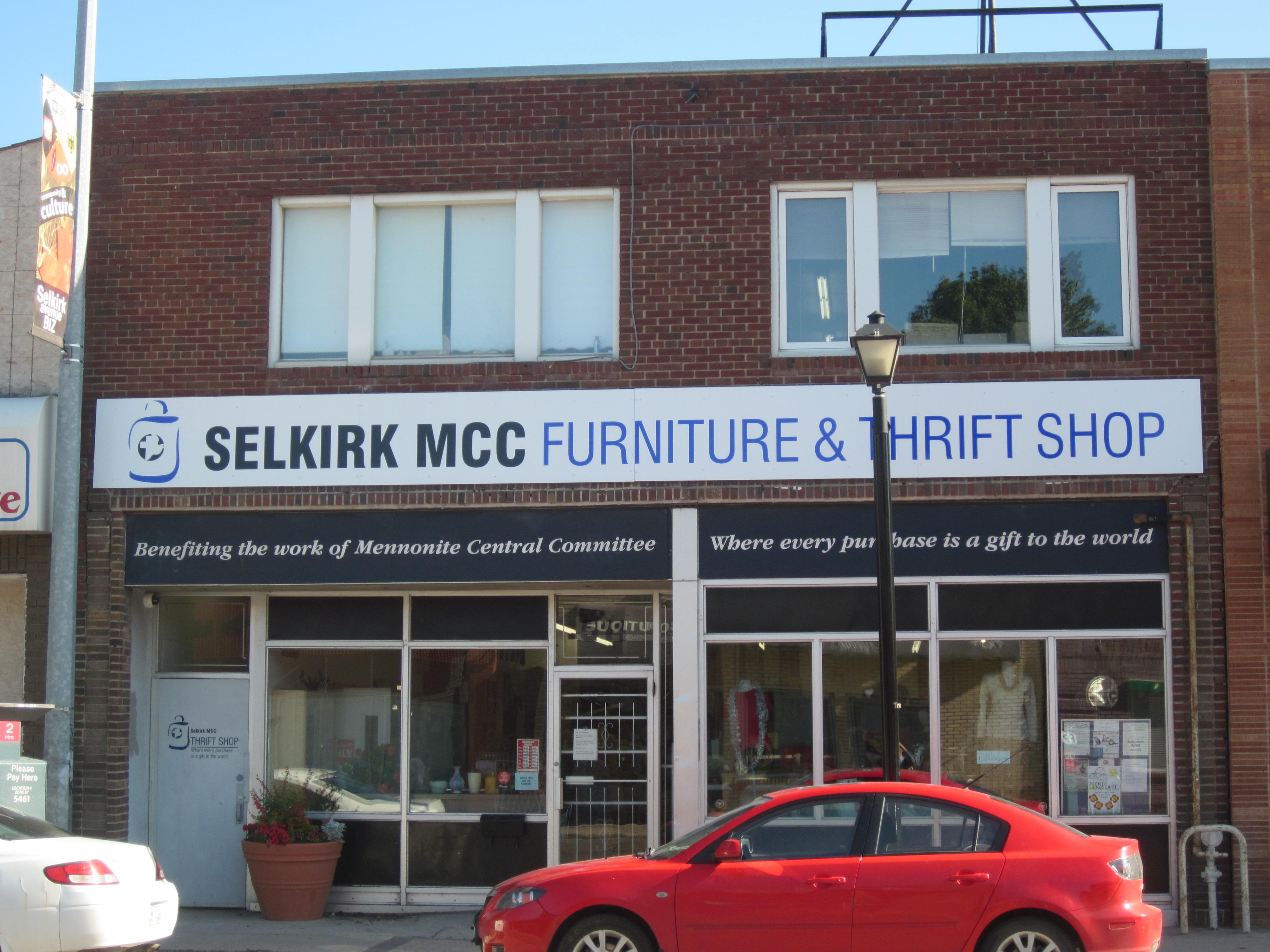 MCC Thrift Store Selkirk Avenue Winnipeg