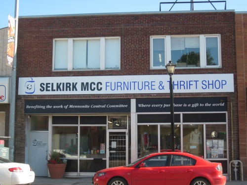 MCC Thrift Store Selkirk Avenue Winnipeg